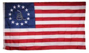 Betsy Ross Gadsden Snake Flag