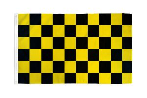 Economy Poly Coronavirus Warning Quarantine Flag - 3 ft X 5 ft