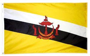 Nylon Brunei Flag - 3 ft X 5 ft