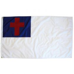 2' X 3' Nylon Christian Flag