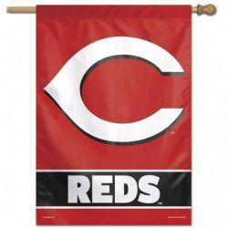Cincinnati Reds Vertical Flag