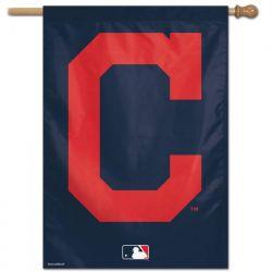 Cleveland Indians Logo Vertical Flag