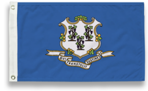 State-Tex Commercial Grade Connecticut State Flag - 5 ft X 8 ft