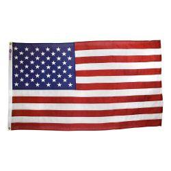 Americana Cotton U.S. Casket Flag - 5 ft X 9 1/2 ft
