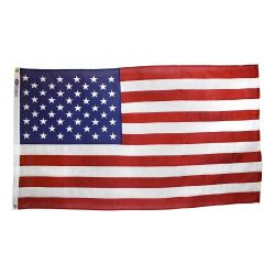 Americana Cotton U.S. Flag - 5 ft X 8 ft