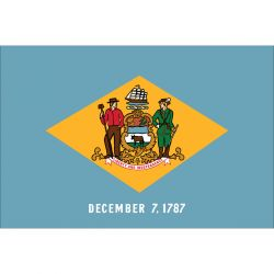 State-Tex Commercial Grade Delaware State Flag - 4 ft X 6 ft