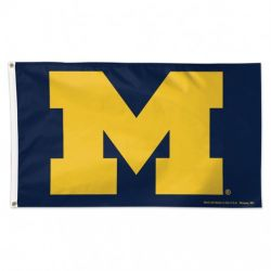 Premium University of Michigan Flag - 3 ft X 5 ft