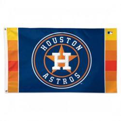 Deluxe Houston Astros Flag - 3 ft X 5 ft