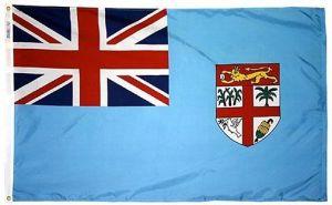 Nylon Fiji Flag - 2 ft X 3 ft
