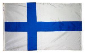 Nylon Finland Flag - 2 ft X 3 ft