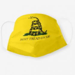 "Gadsden ""Don't Tread on Me"" Cloth Face Mask"