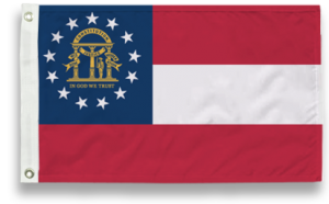 State-Tex Commercial Grade Georgia State Flag - 3 ft X 5 ft