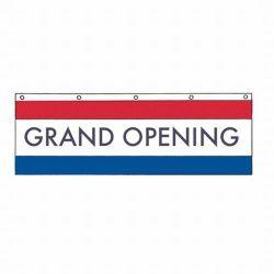 Nylon Grand Opening Banner - 3 ft X 10 ft