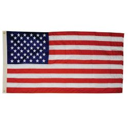 Cotton G-Spec U.S. Flag - 2 ft 4 7/16 In X 4 ft 6 in