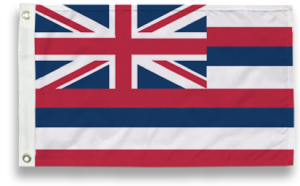 State-Tex Commercial Grade Hawaii State Flag - 4 ft X 6 ft