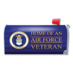 Home of an Air Force Veteran Mailbox Cover Magnet
