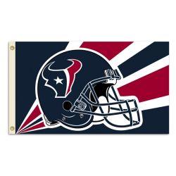Houston Texans Helmet Flag - 3 ft X 5 ft