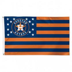 Houston Astros Stars and Stripes Flag