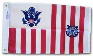 USCG Ensign - 15 in X 24 in