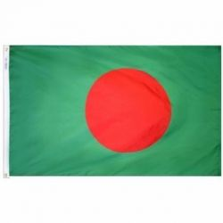 Nylon Bangladesh Flag - 2 ft X 3 ft