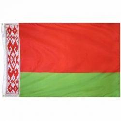 Nylon Belarus Flag - 2 ft X 3 ft