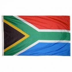 Nylon South Africa Flag - 2 ft X 3 ft