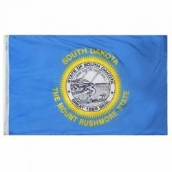 Nylon South Dakota State Flag - 2 ft X 3 ft
