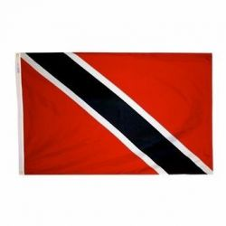 Nylon Trinidad & Tobago Flag - 2 ft X 3 ft
