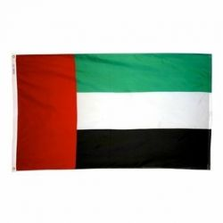 Nylon United Arab Emirates Flag - 2 ft X 3 ft