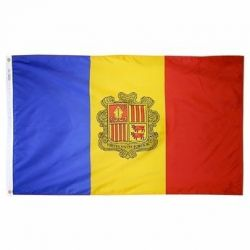Nylon Andorra Flag - 3 ft X 5 ft