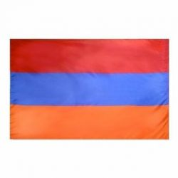 Nylon Armenia Flag - 3 ft X 5 ft