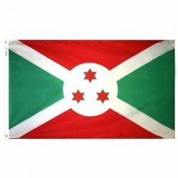 Nylon Burundi Flag - 3 ft X 5 ft