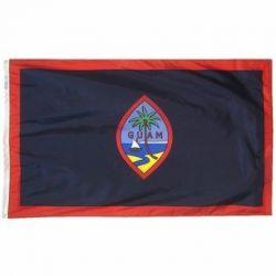 Nylon Guam Flag - 3 ft X 5 ft