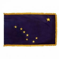 3' X 5' Nylon Indoor/Parade Alaska State Flag