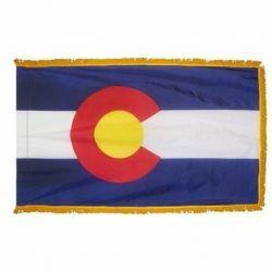 3' X 5' Nylon Indoor/Parade Colorado State Flag