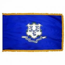 3' X 5' Nylon Indoor/Parade Connecticut State Flag