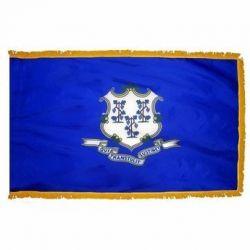 3' X 5' Nylon Indoor/Parade Connecticut State Flag