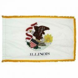 3' X 5' Nylon Indoor/Parade Illinois State Flag