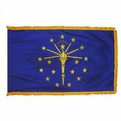 3' X 5' Nylon Indoor/Parade Indiana State Flag