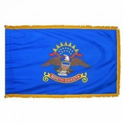 3' X 5' Nylon Indoor/Parade North Dakota State Flag