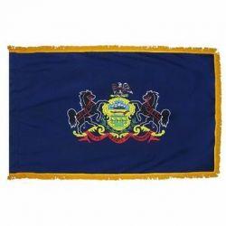 3' X 5' Nylon Indoor/Parade Pennsylvania State Flag