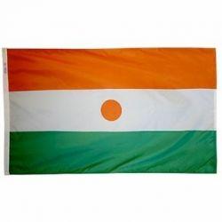 Nylon Niger Flag - 3 ft X 5 ft