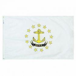 Nylon Rhode Island State Flag - 3 ft X 5 ft