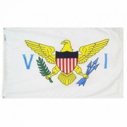 Nylon US Virgin Islands Flag - 3 ft X 5 ft