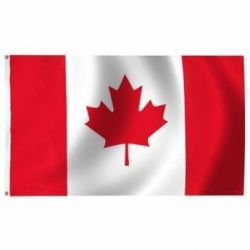 Outdoor Lightweight Economy Printed Canada Flags