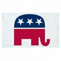 Premium Nylon Republican Party Flag