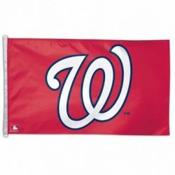 Washington Nationals Flag - 3 ft X 5 ft