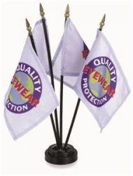 Custom Stick Flags - 4 in X 6 in