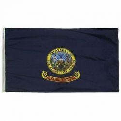 Nylon Idaho State Flag - 4 ft X 6 ft