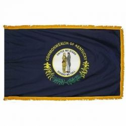 4' X 6' Nylon Indoor/Parade Kentucky State Flag